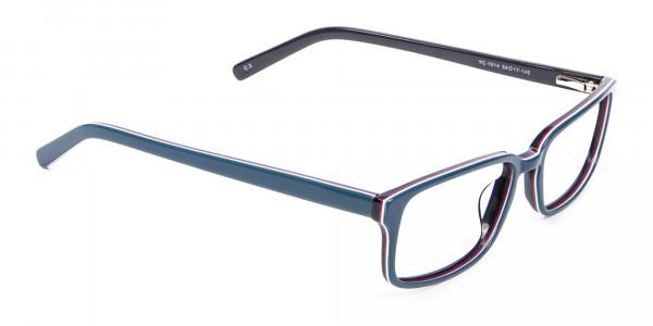 Unique Teal Frames - 1