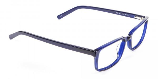 Classy Navy Blue Frames - 1