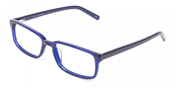Classy Navy Blue Frames - 2