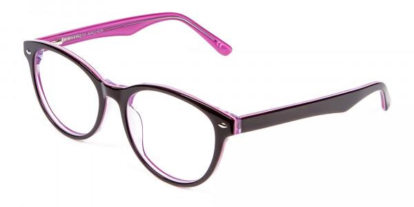 High Volume Electric Pink & Black Frames - 2