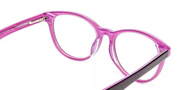 High Volume Electric Pink & Black Frames - 4