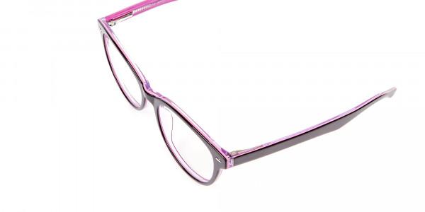 High Volume Electric Pink & Black Frames - 5