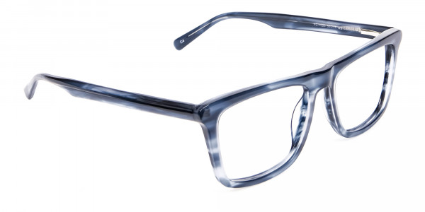 Marble Blue Glasses -2