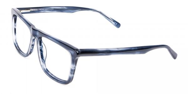 Marble Blue Glasses -3