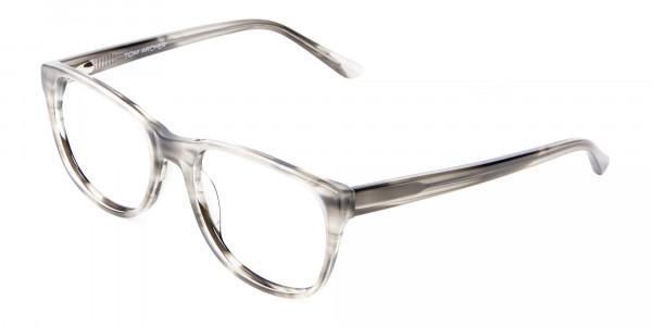 Marbled Silver Grey -3