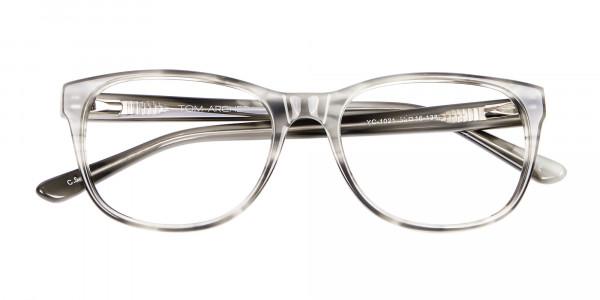 Marbled Silver Grey -6
