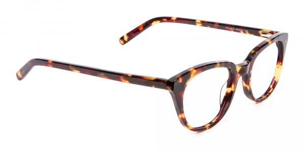 Sunshine Tone Tortoiseshell Glasses - 1