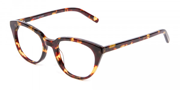 Sunshine Tone Tortoiseshell Glasses - 2