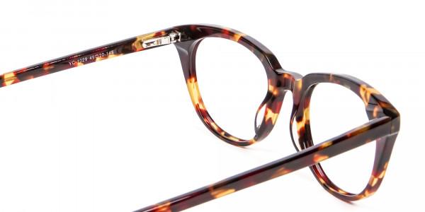 Sunshine Tone Tortoiseshell Glasses - 4