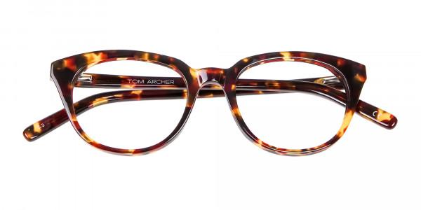 Sunshine Tone Tortoiseshell Glasses - 5