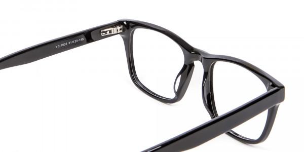 WAYFARER Black Glasses - 4