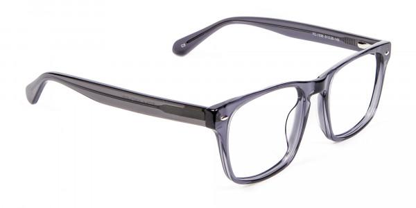 Smart Black & Grey Transparent - 1