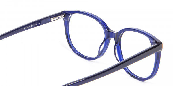 Clever Look with Navy Blue Frame - 4
