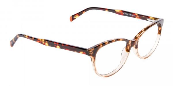 Havana & Tortoiseshell Chic Glasses - 1