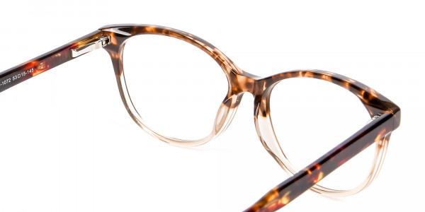 Havana & Tortoiseshell Chic Glasses - 4