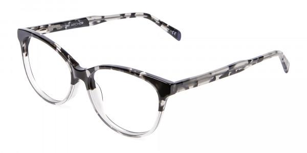 Crystal Spotty Black Frames - 2