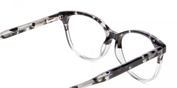 Crystal Spotty Black Frames - 4
