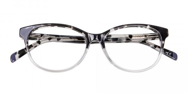 Crystal Spotty Black Frames - 5