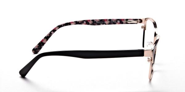 Cat Eye Glasses Floral Attributes -3