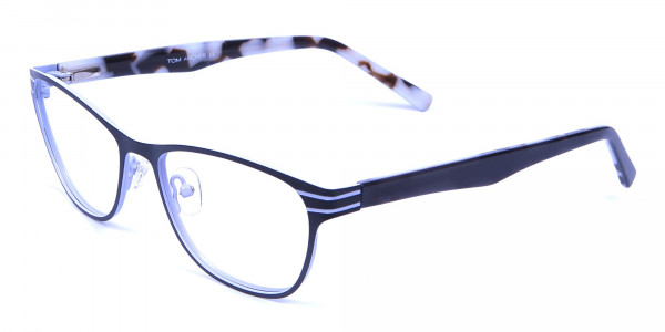 Back and White Cat Eye Glasses Perfection -2