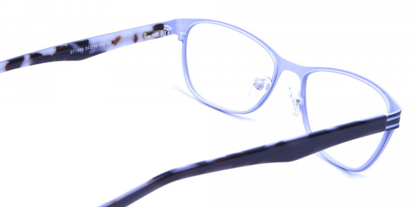 Back and White Cat Eye Glasses Perfection -4