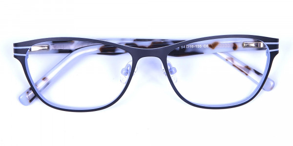 Back and White Cat Eye Glasses Perfection -5