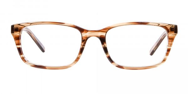 Crystal Brown Glasses -1