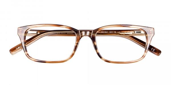 Crystal Brown Glasses -6