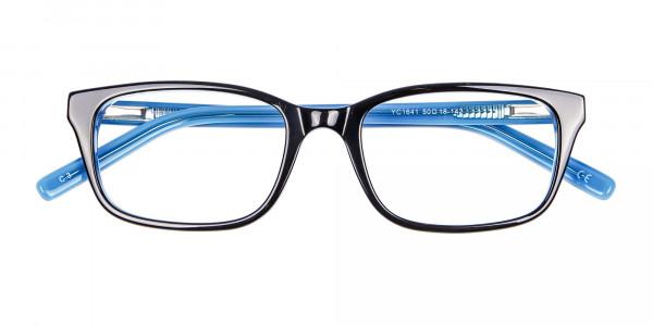 Striking Blue Eyeglass Frames -7