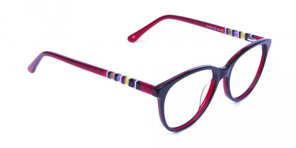 Colourful Cat Eye Frame - 1