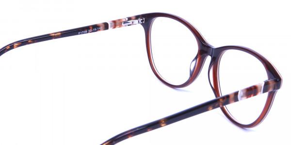 Brown and Tortoiseshell Pattern Glasses - 4