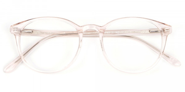Sweet Pink and Translucent Glasses-5