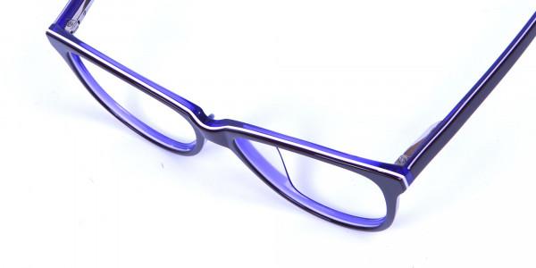 Women's Purple Cat Eye Glasses - 5