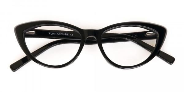 Black Cat Eye Glasses Frame For Women-6