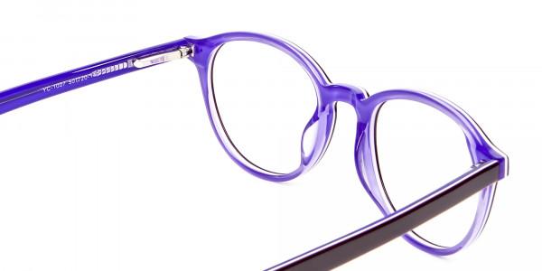 Black and Violet Glasses Online - 5