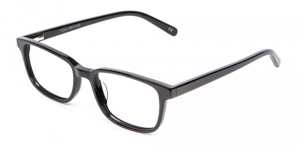 Rectangle Black Glasses for Round Face - 2