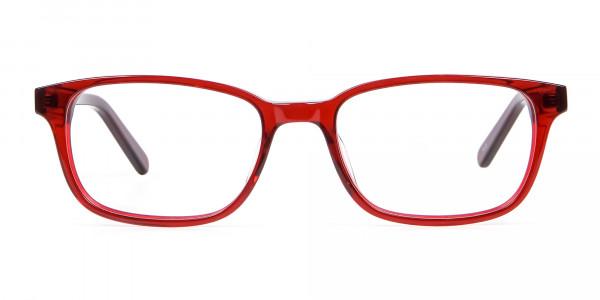 Red Wayfarer Glasses Online - 5