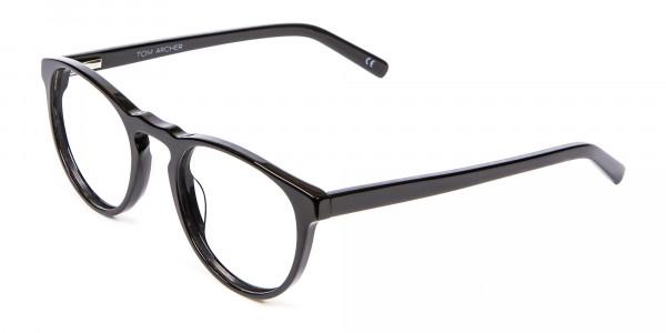 Round Black Glasses Online - 2