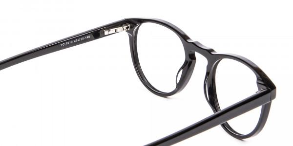 Round Black Glasses Online - 4
