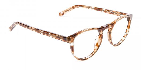 Round Glasses in Maple Havana -2