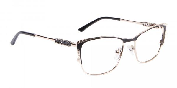 Lady Glasses Rectangular and Cateye-2