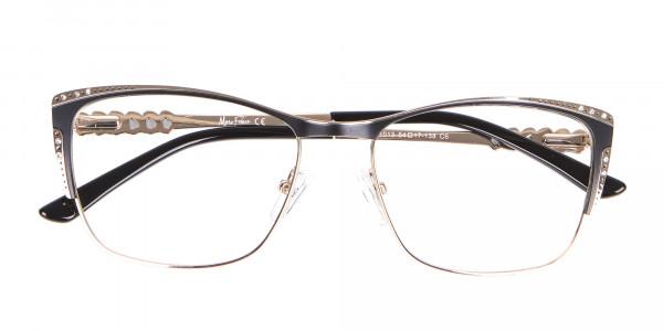 Lady Glasses Rectangular and Cateye-6