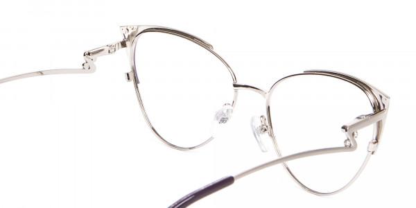 Purple Vintage Inspired Frame, Designer Glasses-5