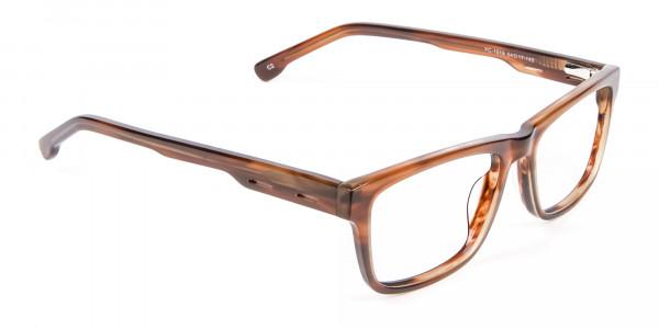 Wayfarer Shape Avant-Garde Sunglasses - 1