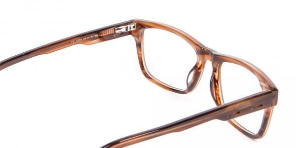 Wayfarer Shape Avant-Garde Sunglasses - 4