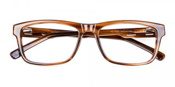Wayfarer Shape Avant-Garde Sunglasses - 5