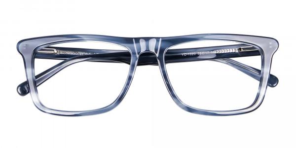 Marble Blue Glasses -6