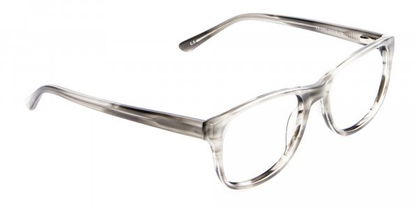 Marbled Silver Grey -2