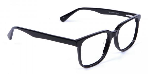 Darkest Black Glasses - 1