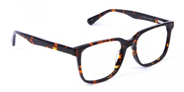 Tortoiseshell Round Eyeglasses - 1